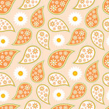 Seamless paisley pattern vector illustration