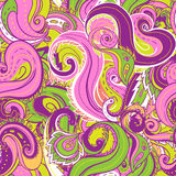 Seamless paisley pattern. Trendy modern wallpaper or textile  background Royalty Free Stock Photography