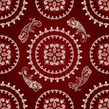 Seamless paisley pattern Stock Photo