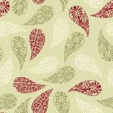 Seamless Paisley Pattern Stock Photography