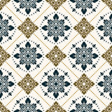 Seamless paisley pattern Stock Images