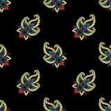Seamless paisley pattern Royalty Free Stock Photography