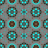 Seamless paisley pattern Royalty Free Stock Photo