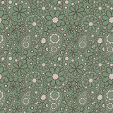 Seamless Paisley pattern, boho Royalty Free Stock Photos