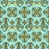 Seamless paisley pattern, Stock Photography