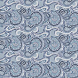 Seamless paisley pattern. Decorative floral paisley ornamental vector seamless pattern Royalty Free Stock Image