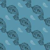 Seamless Paisley pattern. Royalty Free Stock Image