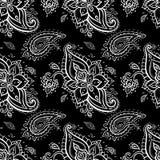 Seamless Paisley pattern. Royalty Free Stock Photo