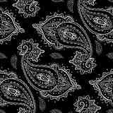 Seamless Paisley pattern. Stock Photo