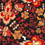 Seamless paisley pattern.orient design.  illustration Royalty Free Stock Image
