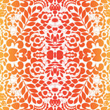 Seamless paisley pattern.orient or russia design.  illustr Stock Photography