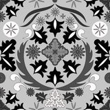 Seamless paisley pattern.orient or russia design.  illustr Stock Images