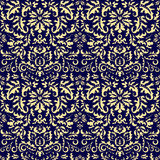Seamless paisley pattern.orient or russia design.  illustr Stock Photos