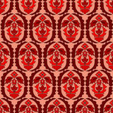 Seamless paisley pattern.orient or russia design.  illustr Royalty Free Stock Images