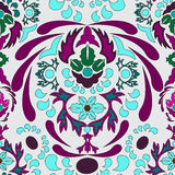 Seamless paisley pattern.orient or russia design.  illustr Stock Image