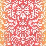 Seamless paisley pattern.orient or russia design.  illustr Stock Image