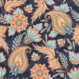 Seamless Paisley Pattern Stock Illustration