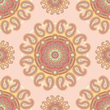 Seamless paisley decor Royalty Free Stock Photography