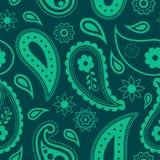 Seamless paisley pattern Stock Image