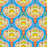 Seamless paisley pattern. Vector seamless paisley wallpaper pattern Royalty Free Stock Photos