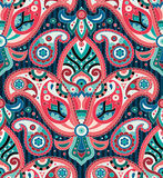 Seamless paisley pattern. Vector seamless paisley wallpaper pattern Royalty Free Stock Images