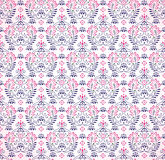 Seamless paisley pink background Stock Photos