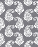 Seamless paisley for textile design Stock Photo