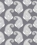 Seamless paisley for textile design Stock Photo