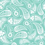 Seamless paisley texture Royalty Free Stock Photo
