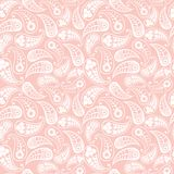Seamless paisley texture Royalty Free Stock Images