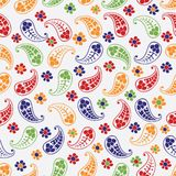 Seamless paisley texture Stock Images