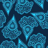 Seamless paisley texture for your design. Stock Photography