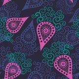 Seamless paisley texture for your design. Stock Photos