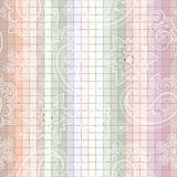 seamless  paisley tile pattern Royalty Free Stock Photos