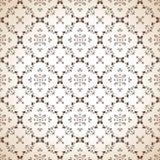Seamless paisley wallpaper in brown Stock Photos