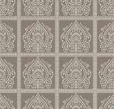 Seamless paisley wallpaper and pattern Royalty Free Stock Image