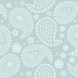 Seamless Pale Paisley Texture Royalty Free Stock Photos