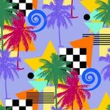 Seamless palm pattern Royalty Free Stock Photo