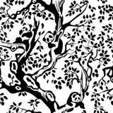seamless panda Arkivbilder