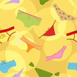 Seamless panties background Royalty Free Stock Photos
