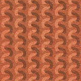 Seamless paper elementary rippling patterns Stock Photos