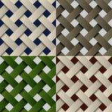 Seamless paper fabric pattern background Stock Photo