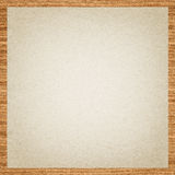 Seamless paper with wooden border Royalty Free Stock Photography