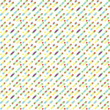 Seamless parallel diagonal overlapping color lines pattern background. Vector illustration. Eps 10 Stock Photos