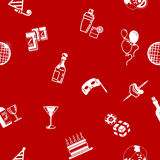 Seamless party background texture Stock Photography