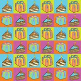 Seamless Party Pattern! Royalty Free Stock Photos