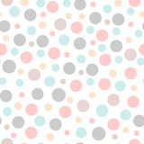 Seamless  party pattern with different sizes dots. Backdrop, wrapping, fabric design. Seamless  party pattern with different sizes dots. Backdrop, wrapping Royalty Free Stock Photo