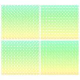 Seamless Pastel abstract zigzag patterns Stock Images