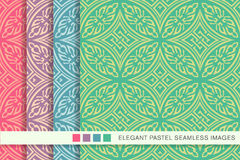 485 Seamless pastel background set round aboriginal cross geomet. Seamless pastel background set round aboriginal cross geometry can be used for both print and royalty free illustration