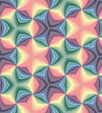 Seamless Pastel Colored Spirals Pattern. Geometric  Abstract  Background. Stock Images